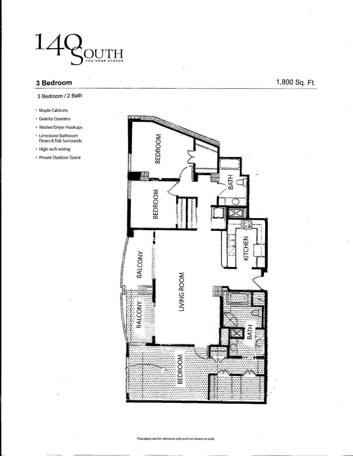 Listing 506851 : 140  South Van Ness Avenue 1101, San Francisco, CA, 94103  (photo 40)