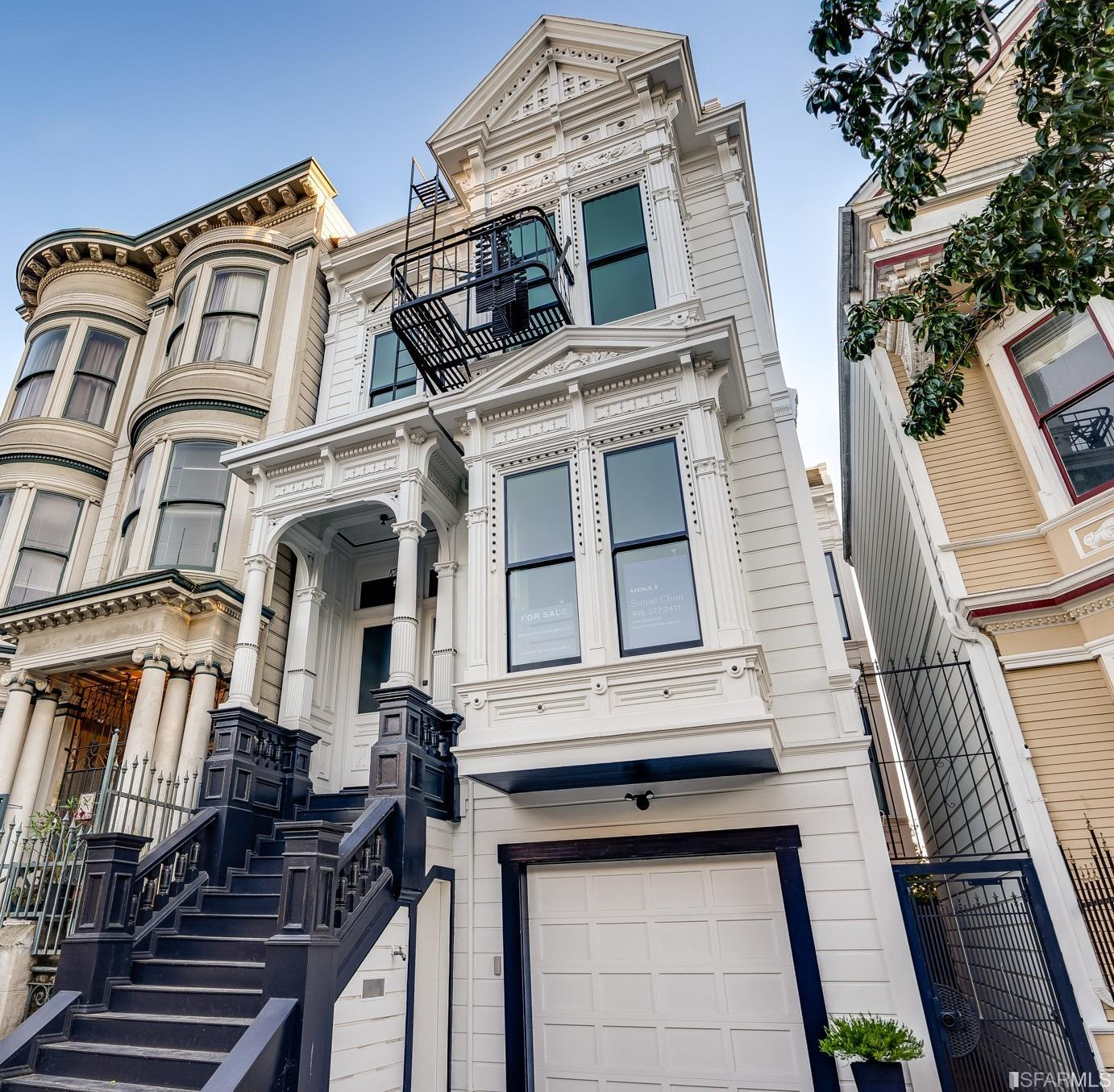Classic Victorian meets modern function. This vacant 4-unit home offers unimaginable privacy and fabulous original period details and flair. Wonderfully down-to-the-stud remodel with must experience 12' ceiling. Ideal for work and relaxation, each unit presents an open floor plan. Lively Lower Haight. Legendary restaurants abound. Historical close-in neighborhood, great as a family compound, partners or as income property. San Francisco Symphony, Hayes Valley commercial strip, 24-hour Fitness, Whole Foods, Duboce Park, tech bus a few blocks away.