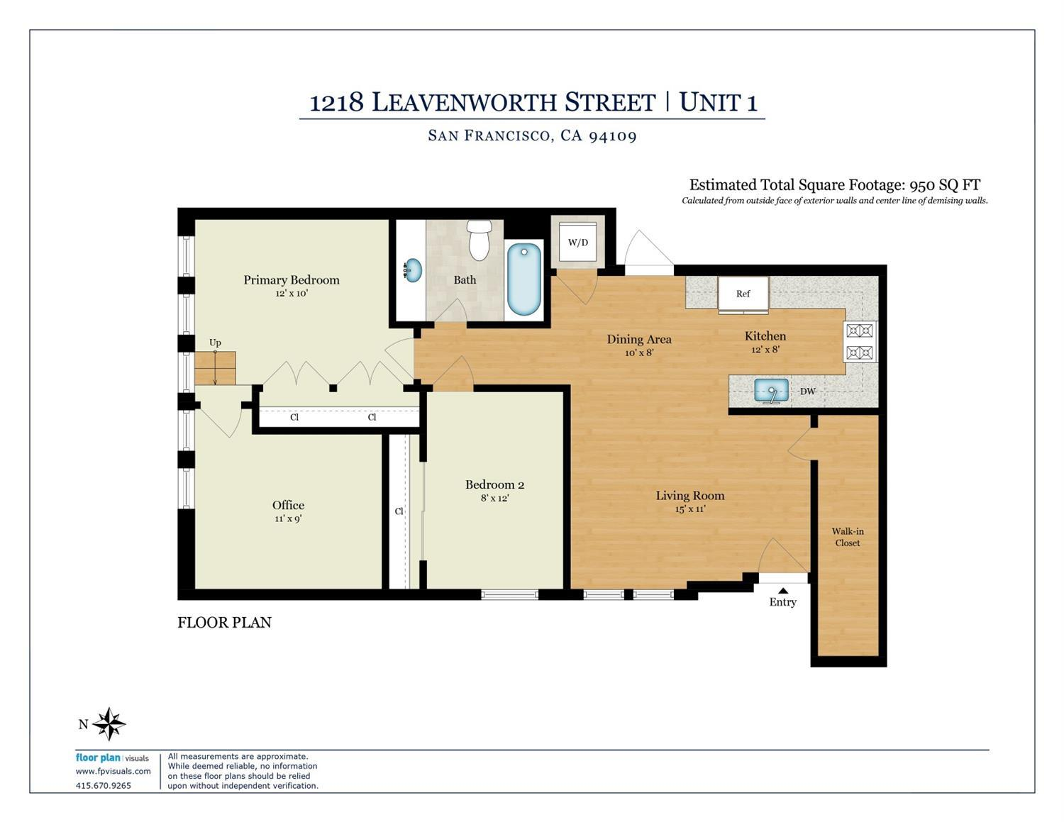 Listing 421541681 : 1218  Leavenworth Street 1, San Francisco, CA, 94109  (photo 23)